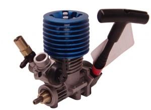 Двигатель внутреннего сгорания для масштаба 1:16 HSP фото