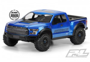 Неокрашенный кузов ProLine 2017 Ford F-150 Raptor True Scale для шорт-корс траков 1:10 (Slash, SC10) фото