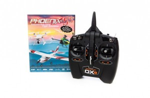 Авиамодельный симулятор Phoenix R/C Pro Simulator Version 5.5 + Spektrum DXe фото