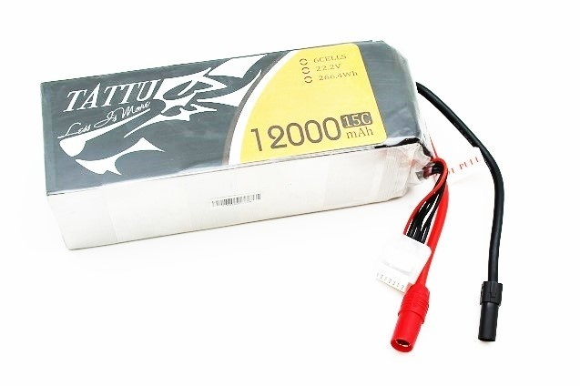 Аккумулятор Gens Ace LiPo Tattu 22.2V 6S 15C 12000mAh (AS150) фото