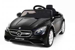 Детский электромобиль Harleybella Mercedes-Benz S63 Luxury 2.4GHz Black фото