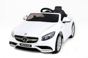 Детский электромобиль Harleybella Mercedes-Benz S63 Luxury 2.4GHz White фото