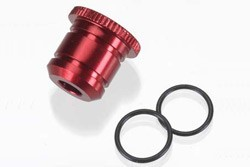 Carburettor Reducer (Red) 5.5mm w/O-Ring фото
