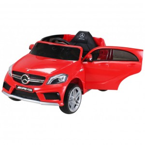 Детский электромобиль Hollicy Mercedes-Benz A45 AMG Red 12V 2.4GHz фото