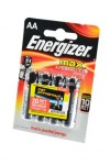 Батарейка Energizer Max+Power Seal LR6 BL4