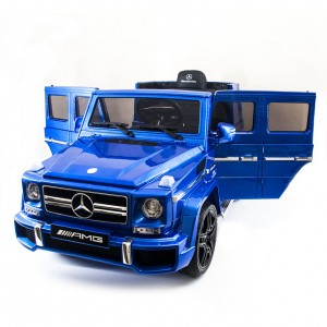Детский электромобиль Harleybella Mercedes-Benz G63 Luxury 2.4GHz Blue фото