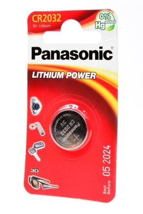 Батарейка Panasonic Lithium Power CR-2032EL/1B CR2032 BL1 фото