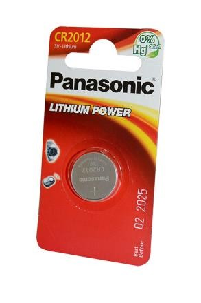 Батарейка Panasonic Lithium Power CR-2012EL/1B CR2012 BL1 фото