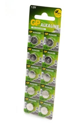 Батарейка GP Alkaline cell А76-2C10 AG13 BL10 фото