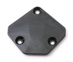 Крышка шасси - Chassis Gear Cover 55T (in kit) фото