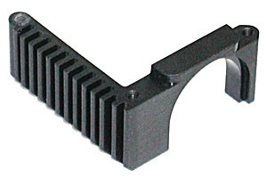 TC4 Heatsink Motor Mount, black фото