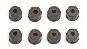 4-40/5-40 Nylon Self-threading Locknut, black фото