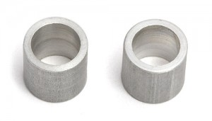 Rear Axle Bearing Spacer, aluminum (fits only the 3/16