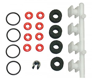 VCS Macro Shock Rebuild Kit. With O-rings, VC bobbin and foam. фото