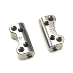 Держатель осей рычагов Aluminum Lower Hinge Pin Mount (3 degree Anti-Squat) фото
