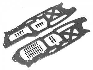 Пластины шасси Main Chassis Set 2.5mm (Savage Flux HP/Gray) фото