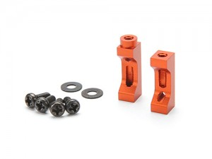 Стойки крепления серво - Aluminum Servo Mount Set (Orange) фото