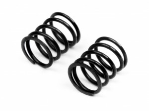 Пружины Front 3.6x5.7x0.5mm 5Coils (Black/2pcs) фото