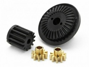 Шестерни дифференциала Diff Pinion Gear Set (Micro RS4) фото