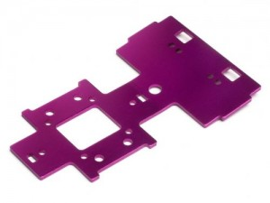 Gear Box Under Plate 2.5mm (Purple) фото