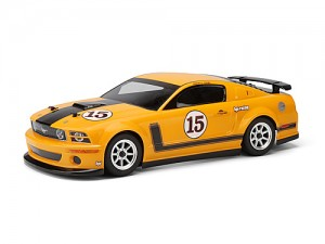 Неокрашенный кузов Saleen Parnelli Jones Ford Mustang GT-R 200мм для шоссеек 1:10 фото