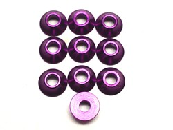 3mm Alu. Cone Linkage Spacer, Purple (10) фото