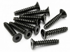 TP. Flat Head Screw M4x20mm (Hex Socket/10pcs) фото