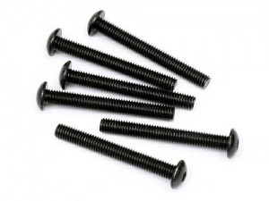 Button Head Screw M5x40mm (Hex Socket/6pcs) фото