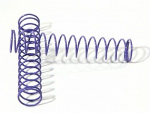 Пружины 14x80x1.1 14 Coils (Purple/2Pcs) фото