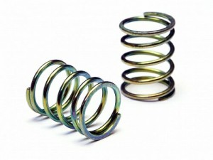 Пружины Shock Spring 13x23x1.6mm 5.5 Coils (Gold/2pcs) фото