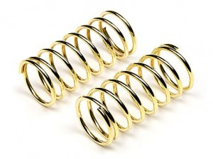 Пружины 11x28x1.1mm 8 Coils (Gold/2pcs) фото