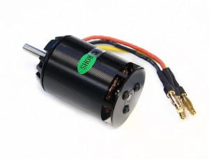 Электродвигатель бесколлекторный EMP X500-TW/05 KV1500 (вертолетный) фото