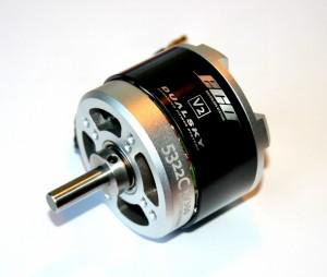 Бесколлекторный электромотор ECO 5322C 430об/в 2400Ватт фото