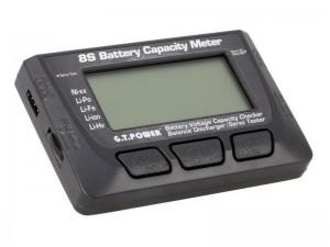 Измеритель емкости Li-Po аккумуляторов 8S G.T.Power фото