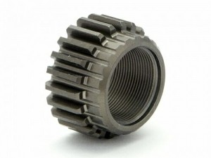 Шестерня ведущая Threaded Pinion Gear 22Tx12mm (0.8M/1st/2 Speed) фото