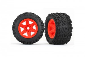 "Колеса в сборе Orange wheels + 3.8"" Talon EXT tires + foam inserts фото"