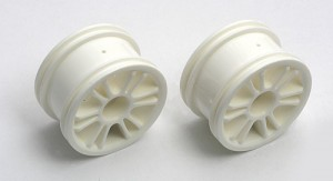 Narrow Spoked Wheel, white фото