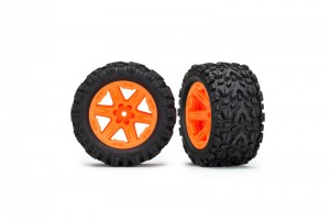 "Колеса в сборе RXT orange wheels + Talon Extreme 2.8"" фото"