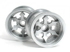Диски колесные (Т-10) Spike Truck Wheel (Matte Chrome/2pcs) фото