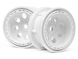 Диски T10 - Rock 8 Bead Lock Wheel White (55x36mm/2шт) фото
