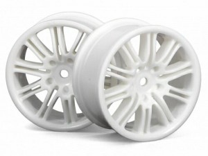 Диски 1/10 - 10 Spoke Motor Sport 26mm White (2шт) фото