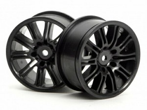 Диски 1/10 - 10 Spoke Motor Sport 26mm Black (2шт) фото