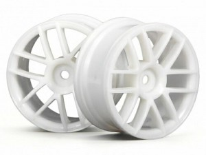 Диски 1/10 - Split 6 Wheel 26mm White фото
