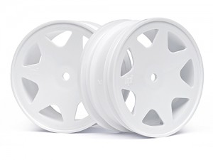 Диски 1/10 - Ultra 7 Wheels White 30mm (2pcs) фото