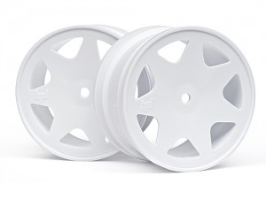 Диски 1/10 - Ultra 7 Wheels White 35mm (2pcs) фото
