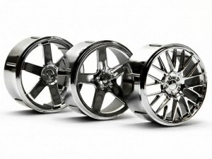 Диски комплект Wheel Set (Chrome/Micro RS4) фото