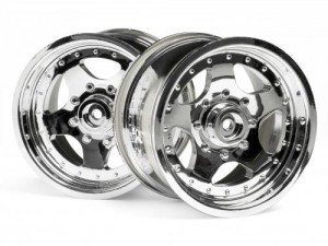 AR-5 Wheel Chrome (83x56mm/2pcs) фото