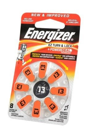Батарейка Energizer Zinc Air 13 + Power Seal BL8 фото