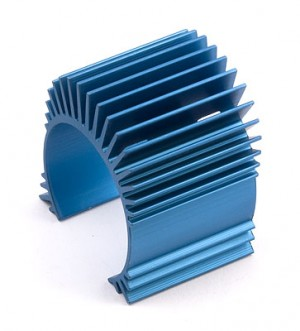 TC4 Motor Heatsink, blue aluminum (for use with #31047) радиатор фото