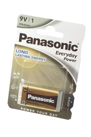 Батарейка Panasonic Everyday Power 6LF22EPS/1BP 6LF22 BL1 фото